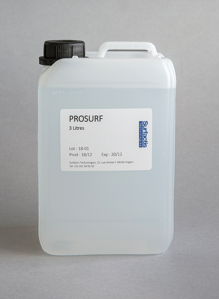 Prosurf, a high-performance liquid repellent surface